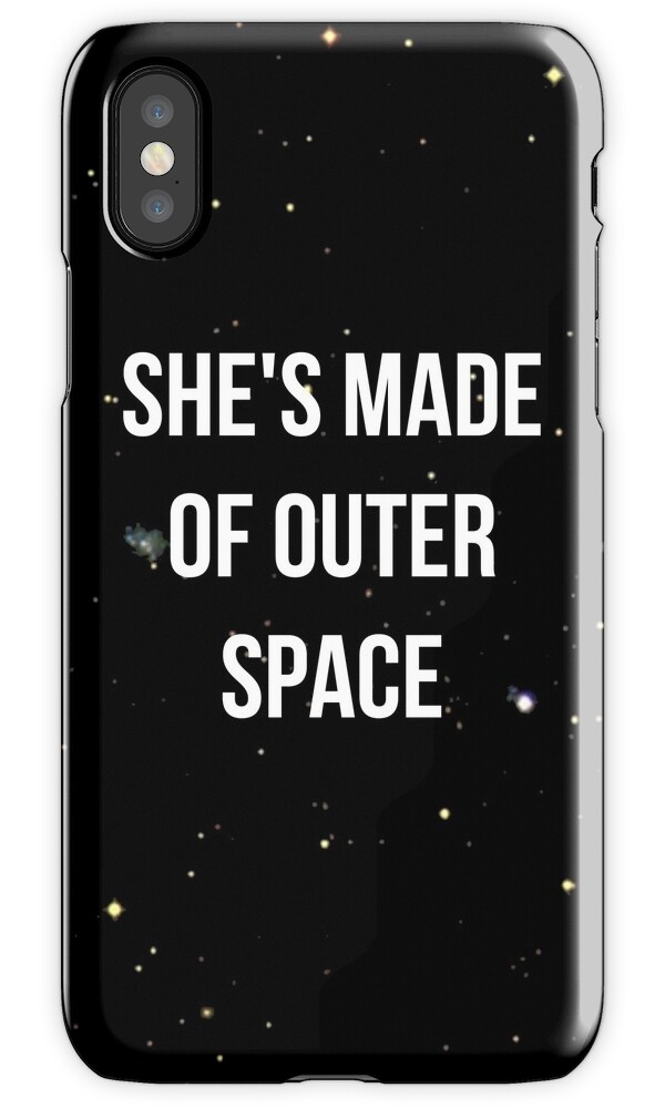 Made of outer space iphone cases covers by for What is outer space made of