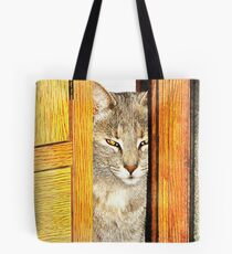 Looking Through From The Other Side Tote Bag