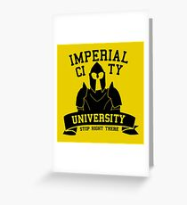 Imperial City University Greeting Card