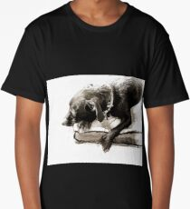 Lost In Thought Long T-Shirt