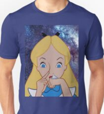 Alice in Wonderland doing a Bump T-Shirt