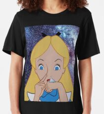 Alice in Wonderland doing a Bump Slim Fit T-Shirt