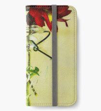Für immer erhalten iPhone Flip-Case/Hülle/Klebefolie