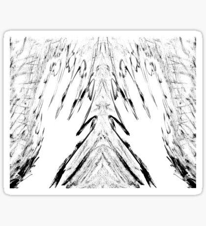 Shakey Spectre Sticker
