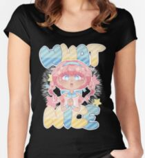 What a nice Women's Fitted Scoop T-Shirt
