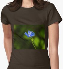 Flower macro Women's Fitted T-Shirt