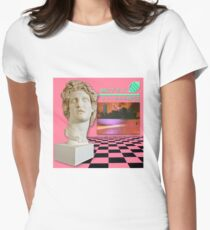 Macintosh Plus: Floral Shoppe [vaporwave] Women's Fitted T-Shirt