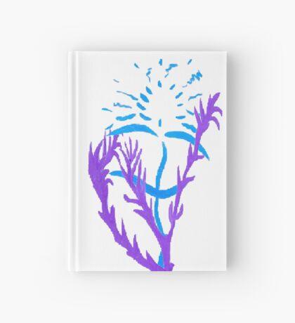 Blue & Purple Flowers Hardcover Journal
