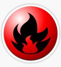 Fire Energy Sticker