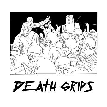 Death Grips by jijiru