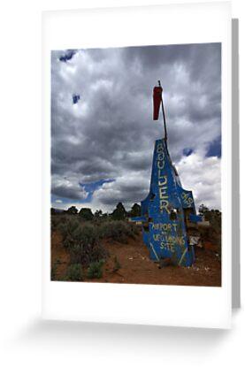 Airport and UFO Landing Site, Boulder, Utah by Brian Hendricks