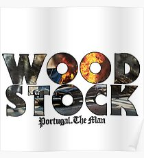 Portugal. The Man - Woodstock Poster