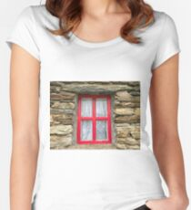 Donegal Window Women's Fitted Scoop T-Shirt