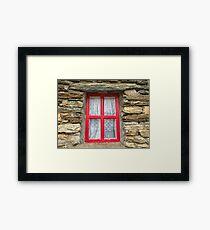 Donegal Window Framed Print