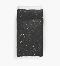 Hubble, COSMOS, Nasa, Extreme Deep Field image, space, constellation, Fornax Duvet Cover