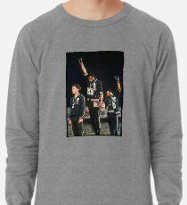 1968 Olympischen Spiele Gruß für Menschenrechte Leichtes Sweatshirt