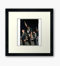 1968 Olympics Salute for Human Rights Framed Print