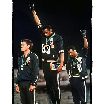 1968 Olympics Salute for Human Rights by JKulte