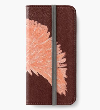 Flower of Orange iPhone Wallet