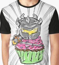 Heavy Damage Cupcake Graphic T-Shirt