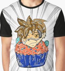 Rewind Cupcake Graphic T-Shirt