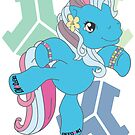 My Little Raver - Blue Stage by PiCCa