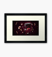 Feed Looked Into Forbidden Knowledge... Framed Print