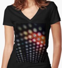 The 62nd Temporal Displacement Vehicle Convention 3243AD Women's Fitted V-Neck T-Shirt