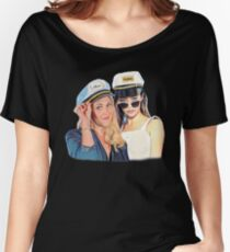 Eliza & Alycia - Clexa Captains Women's Relaxed Fit T-Shirt