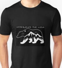 Nature lovers - Experience the Wild Unisex T-Shirt