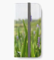 Purple Flowers iPhone Wallet/Case/Skin