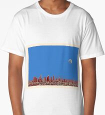 los angeles travel poster 5 Long T-Shirt