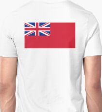 Red Ensign, NAVY, Merchant Navy, Flag, Red Duster, Royal Navy Flag,  T-Shirt