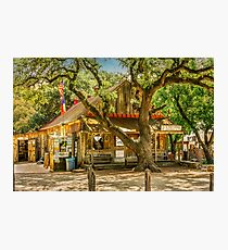 Luckenbach Texas General Store and Saloon Photographic Print