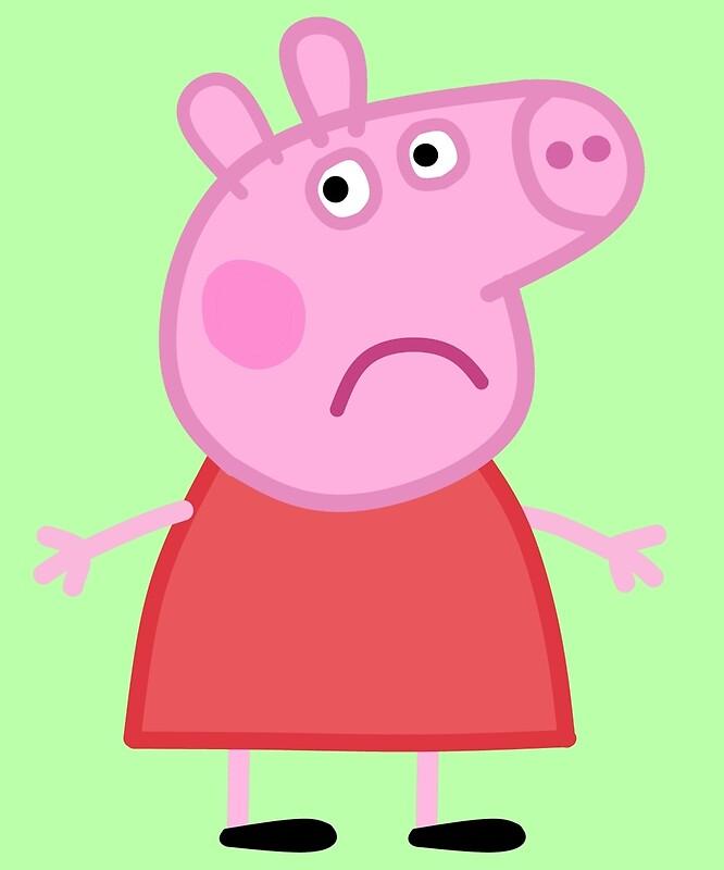 sad pig images