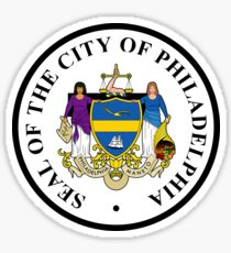 Philadelphia City Seal Sticker