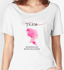 Team Rebekah Mikaelson - The Originals  - The Vampire Diaries Women's Relaxed Fit T-Shirt