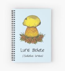 Lurid Bolete (without cartoon face) Spiral Notebook