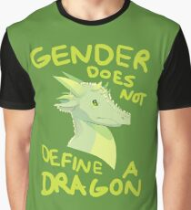 Gender Does Not Define Dragons Graphic T-Shirt