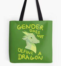 Gender Does Not Define Dragons Tote Bag