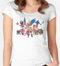Master of the Universe - Princess Of Power Women's Fitted Scoop T-Shirt