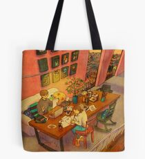 Busy day Tote Bag