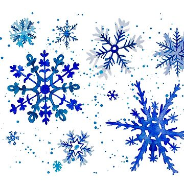 Snowflakes by Pintarrajearte