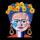 Fractured Frida (Frida Kahlo) by Lisafrancesjudd