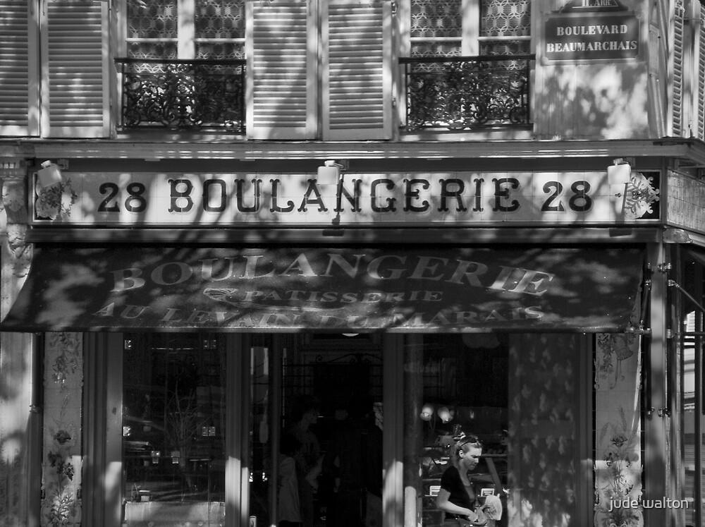 boulangerie in paris by jude walton