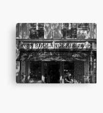 boulangerie in paris Canvas Print