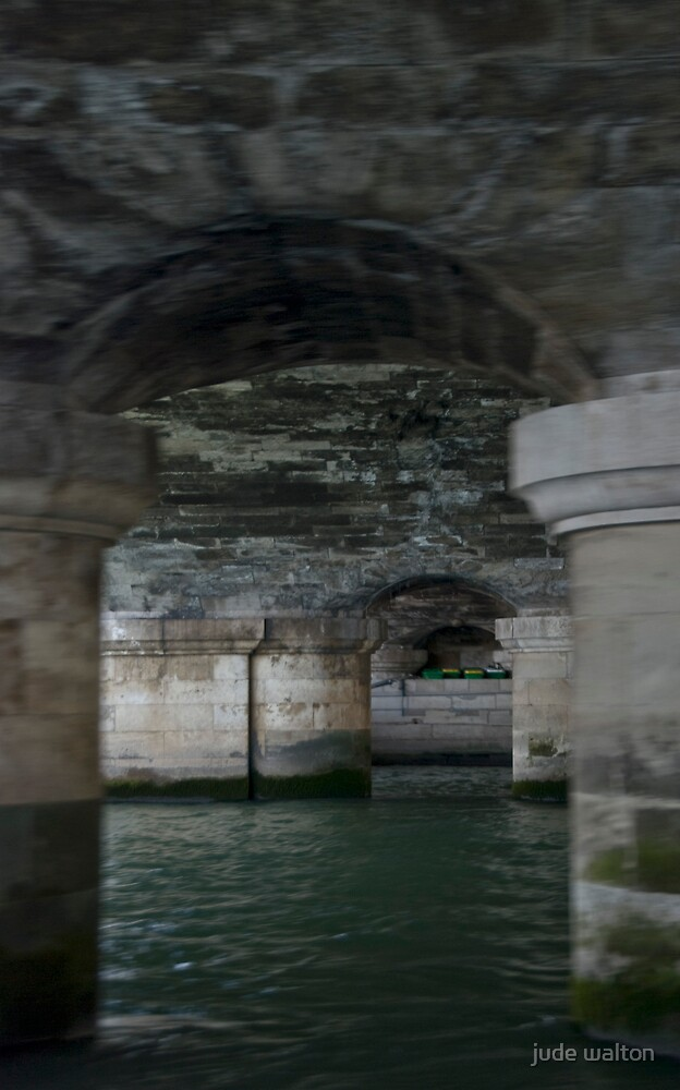 on the seine, under the streets by jude walton