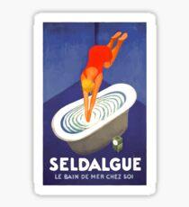 Leonetto Cappiello Affiche Seldague Sticker