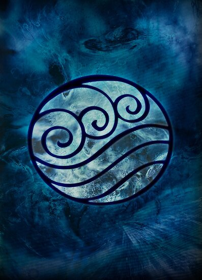 Avatar Symbol Water Element Posters By Mcashe Redbubble