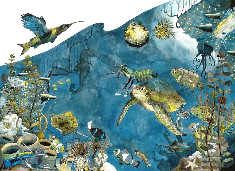 Sea Scape by Emily Wallis